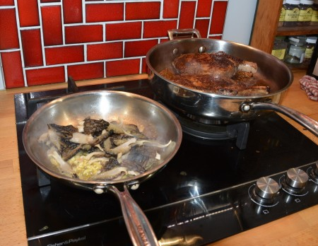 Cooking the Morels